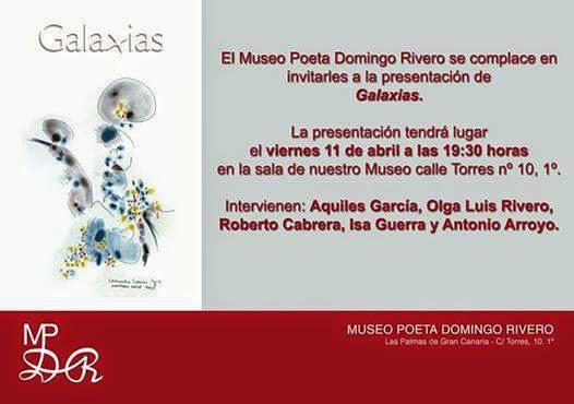 Galaxias en el Museo Poeta Domingo Rivero