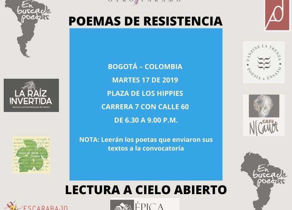 Poemas de Resistencia
