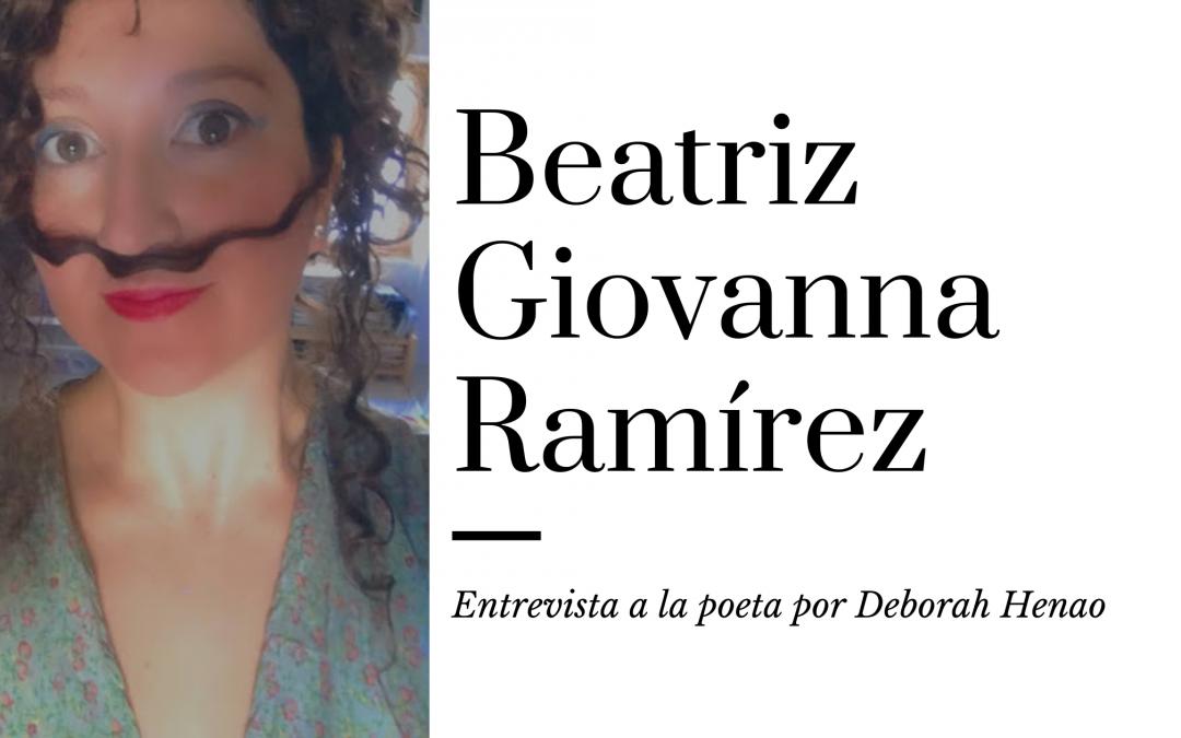 Vídeo |Entrevista: Poesía Erótica con la escritora colombiana: Beatriz Giovanna Ramírez