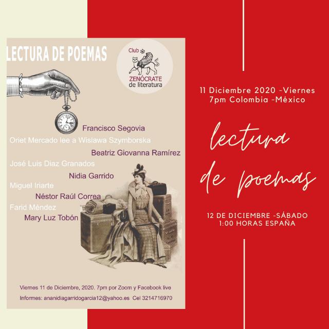 Recital | Club Zenócrate de Literatura