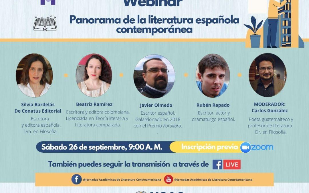 Panorama de la literatura española contemporánea