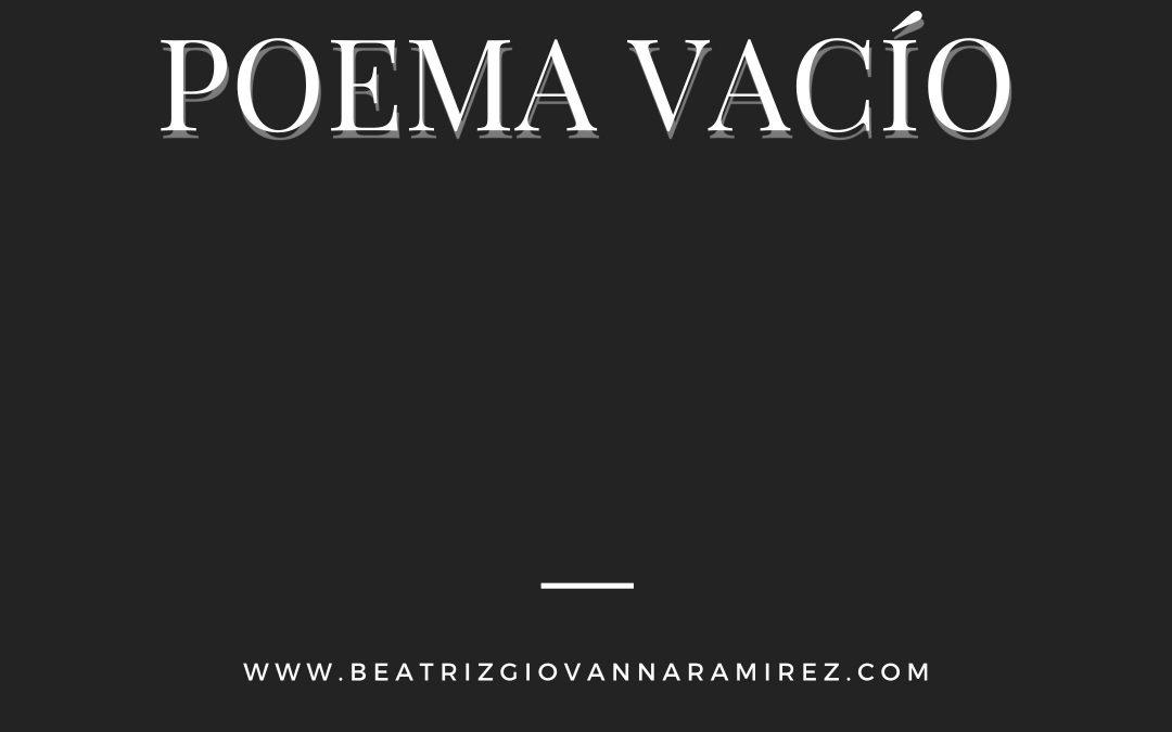 Poema vacío
