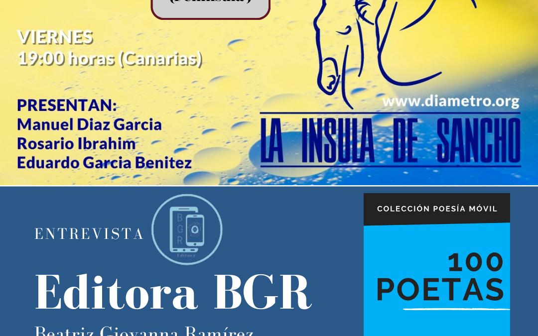 Editora BGR Beatriz Giovanna Ramírez en «La ínsula de Sancho»